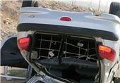 واژگونی سواری در آزادراه پل زال ـ خرم آباد یک کشته و 2 مجروح بر جای گذاشت
