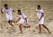 صعود ملی پوشان فوتبال ساحلی به فینال المپیک ساحلی آسیا