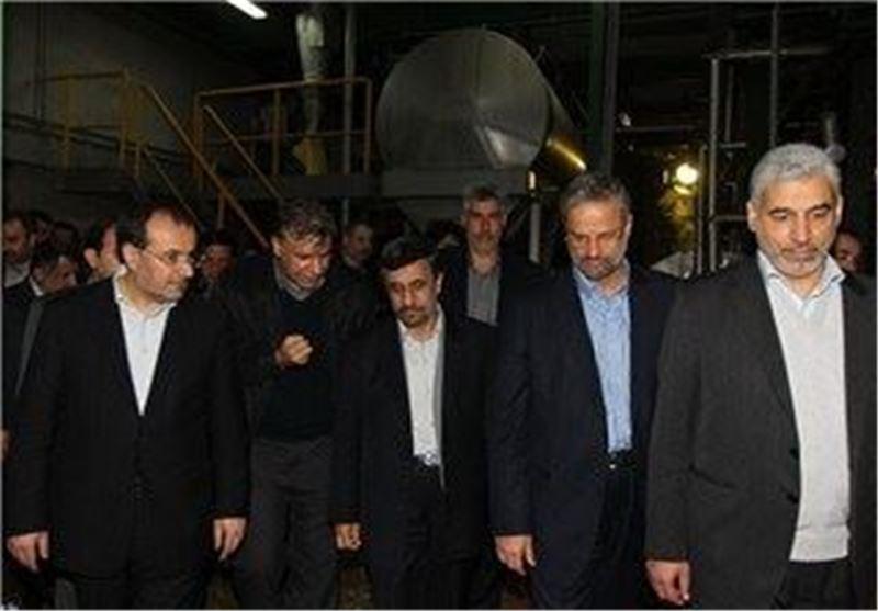 افتتاح احمدی نژاد