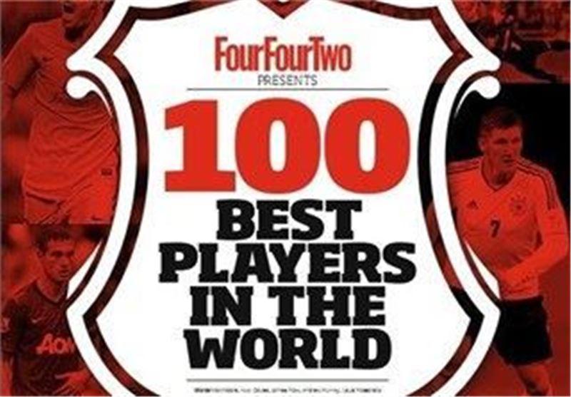100 بازیکن برتر