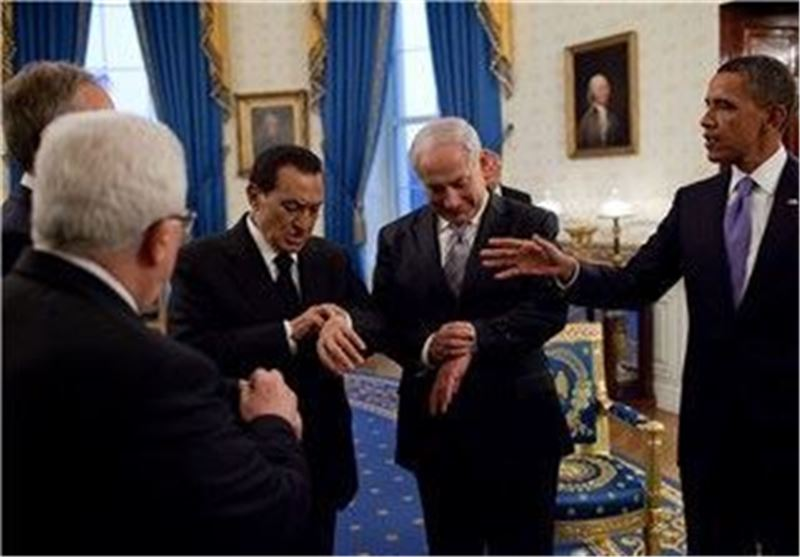 نتانیاهو اوباما مبارک