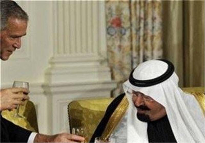 ملک عبدالله بوش عربستان