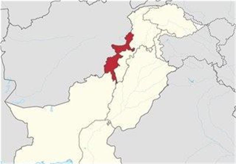 مناطق قبایلی پاکستان نقشه