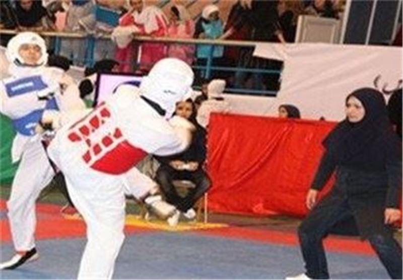 هفدهمین دوره رقابتهای کشوری تکواندوکاران بسیجی در قزوین آغاز شد