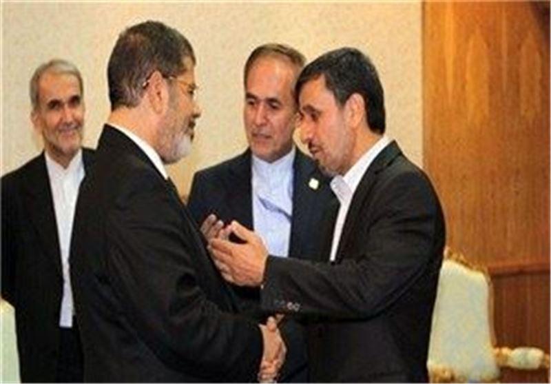 احمدی نژاد مرسی
