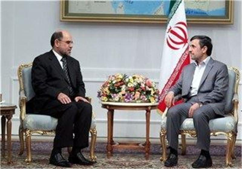 دیدار احمدی نژاد