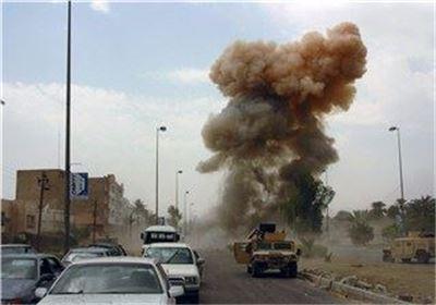 انفجار بمب در شمال بغداد/۱۰ نیروی عراقی شهید شدند