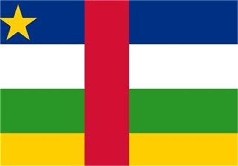 پرچم جمهوری آفریقای مرکزی
