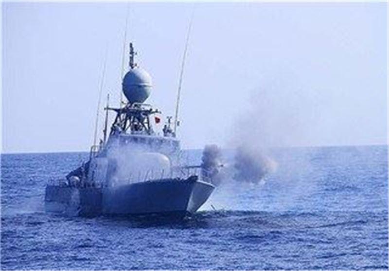 ناو ایرانی در رزمایش نیروی دریایی