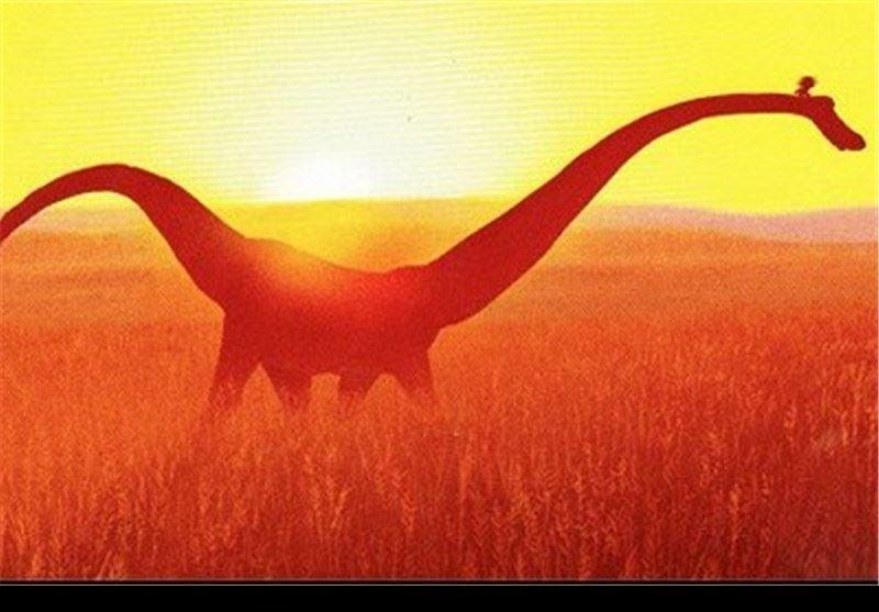 عکس  کشف ردپای دایناسورها در آسیا