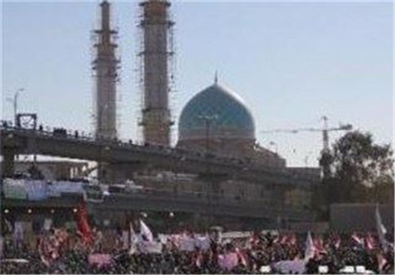 تظاهرات نجف اشرف در تائید عملیات ارتش عراق در الانبار