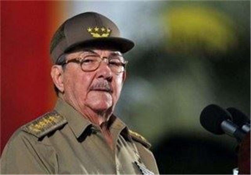 رائول کاسترو:مردم کوبا قهرمانان اصلی انقلاب هستند