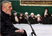 فیلم// حاج منصور شب اول عزاداری در بیت رهبری