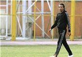 محمد نوری با پیراهن آبی المسیمیر + عکس
