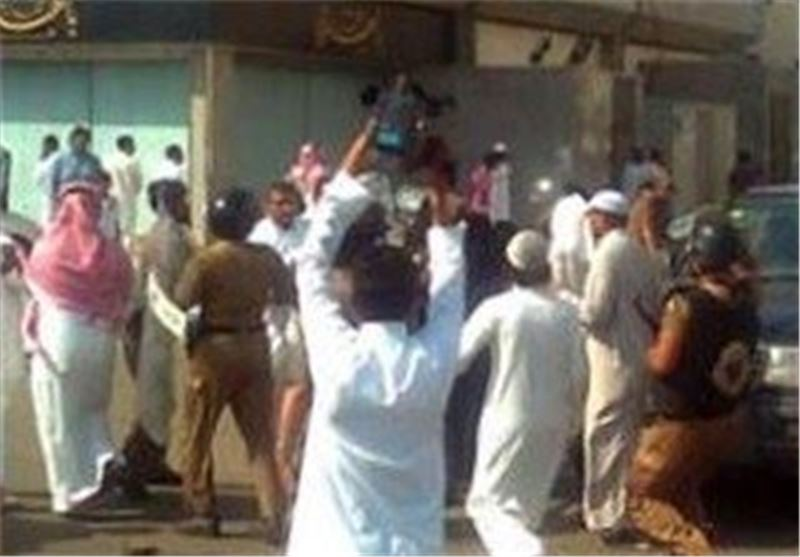 Security Forces Attack Protest against Saudi Economic Polices