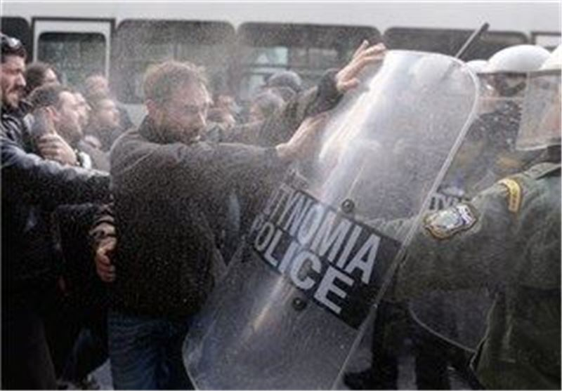 Greek Farmers, Police Clash during Tax Hikes Protest