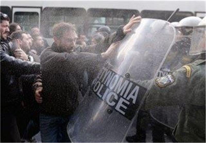 تظاهرات یونان 6