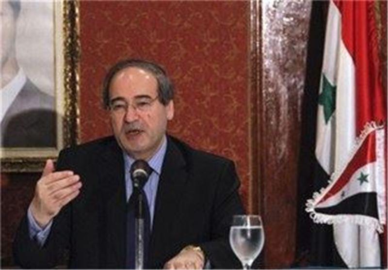 معاون وزیر خارجه سوریه