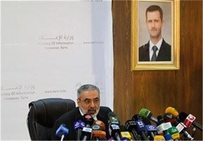 Syrian Minister Says Assad Will Not Step Down
