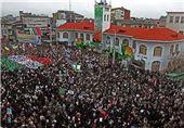 مردم علیه اشرار| قیام مردم دیار میرزاکوچک جنگلی در محکومیت حرکات هنجارشکنانه اغتشاشگران