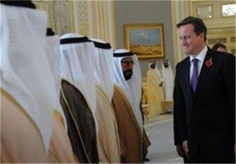 تنش بین عربستان انگلیس