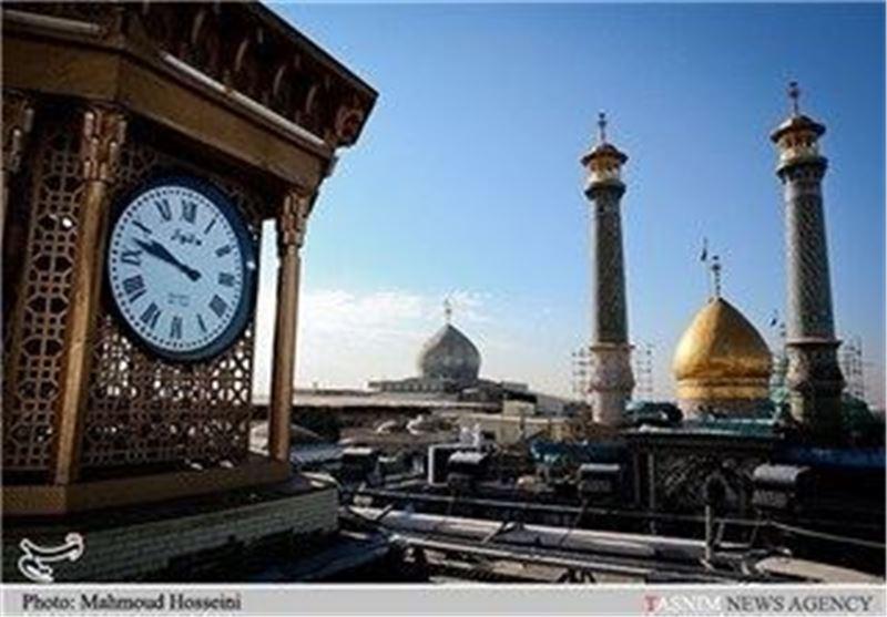 غرفه فرهنگی آستان سیدالکریم(ع) پذیرای مردم در راهپیمایی 22 بهمن