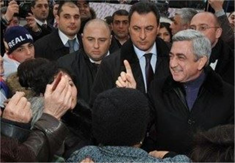 لغو تحقیقات امنیتی دولت ارمنستان درباره وزیر پیشین این کشور