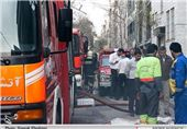 انفجار در منزل مسکونی حین کارکردن با مواد محترقه