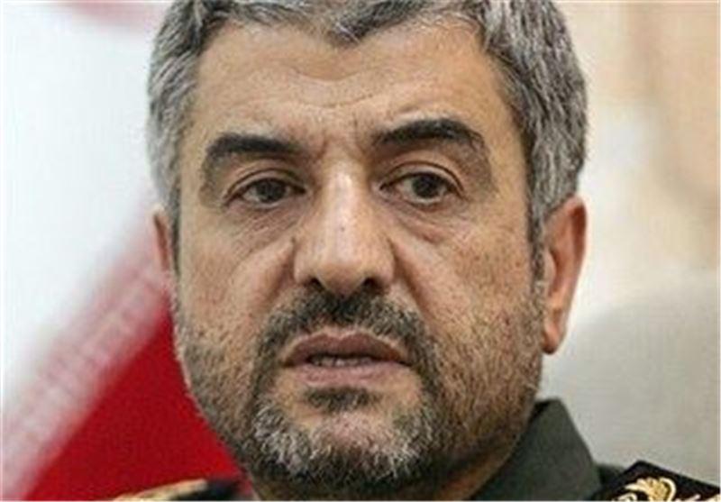 قائد الحرس الثوری : قواتنا المسلحة علی أتم الاستعداد للدفاع عن النظام الاسلامی