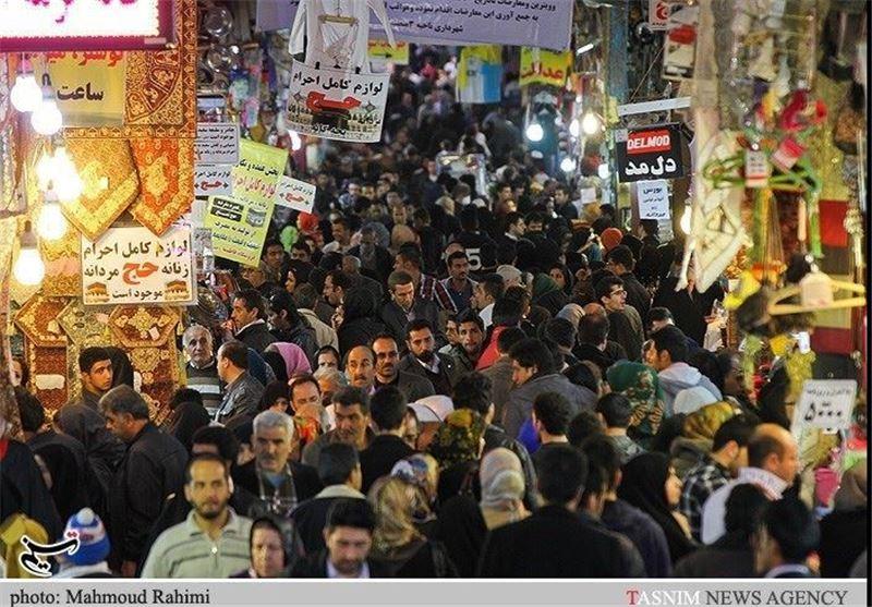 بازار تهران در آستانه عید نوروز