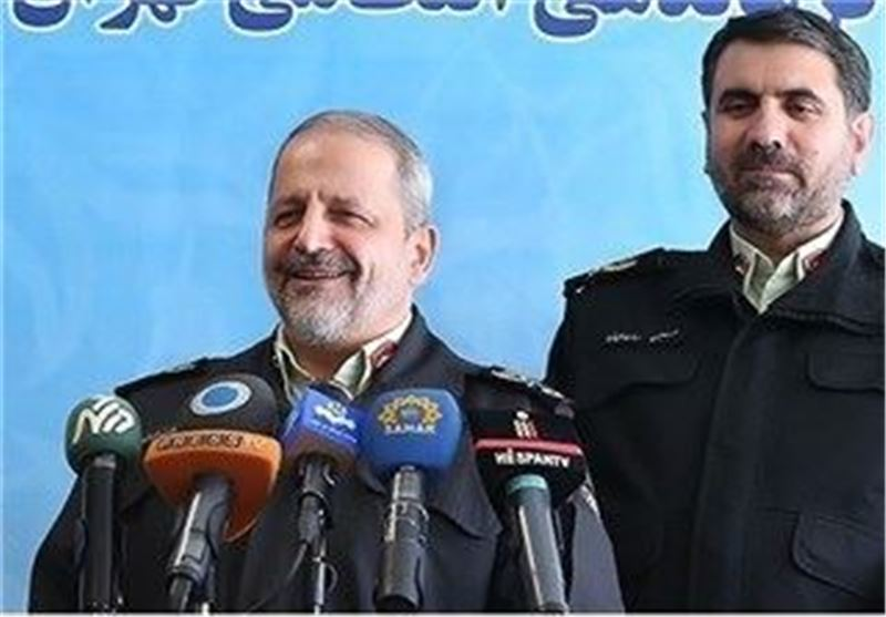 Police Chief: Rate of Violent Crimes Lowest in Iran in Years