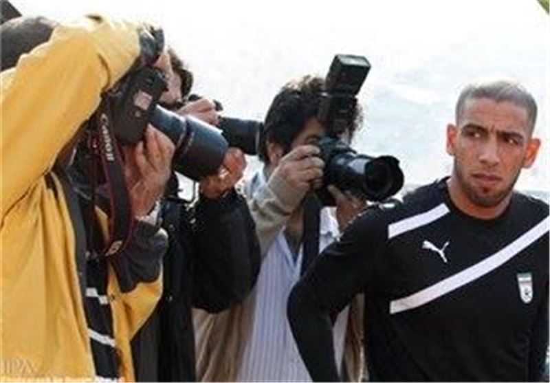 Dejagah Proud to Play for Iran