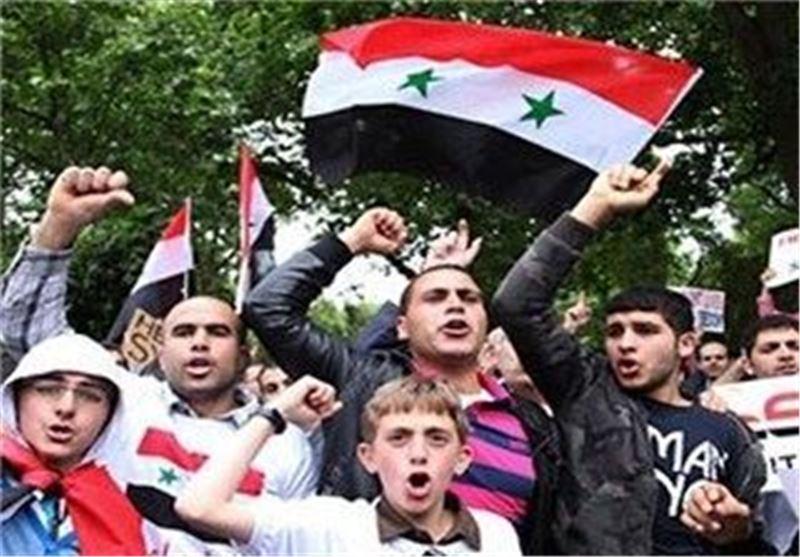 تظاهرات سوریه آلمان