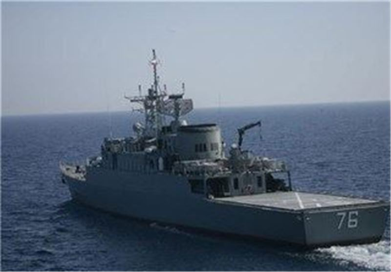 Iran Navy to Equip Destroyer with Phased Array Radars