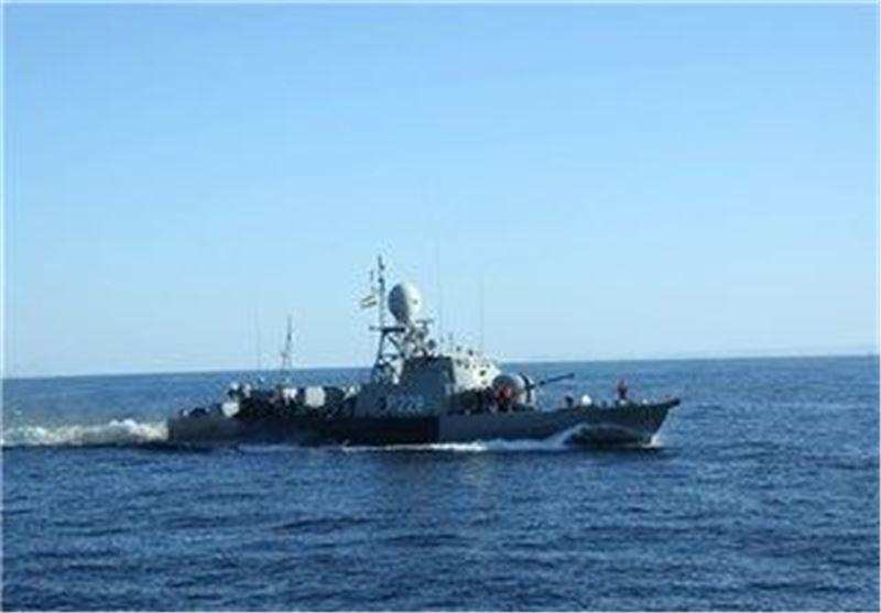 ناوچه پیکان در رزمایش نیروی دریایی
