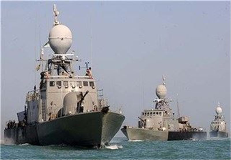 1st Video of Iran's Naval Fleet in Atlantic Ocean Released (+Video)