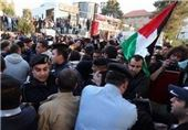 زخمی شدن 8 فلسطینی در یورش نظامیان صهیونیستی به تظاهرکنندگان در رام الله