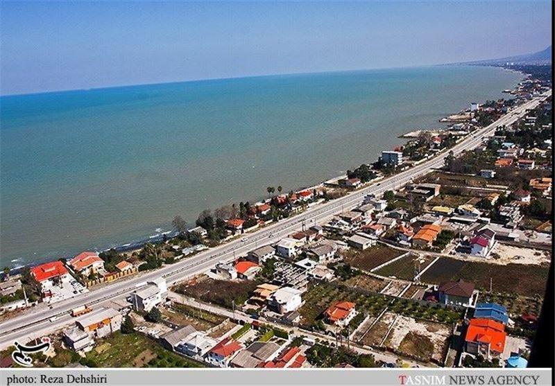 شهرستان چالوس از نگاه آسمان مازندران
