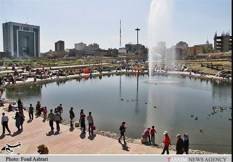 روز طبیعت در پارک نوروز و ساعی تهران