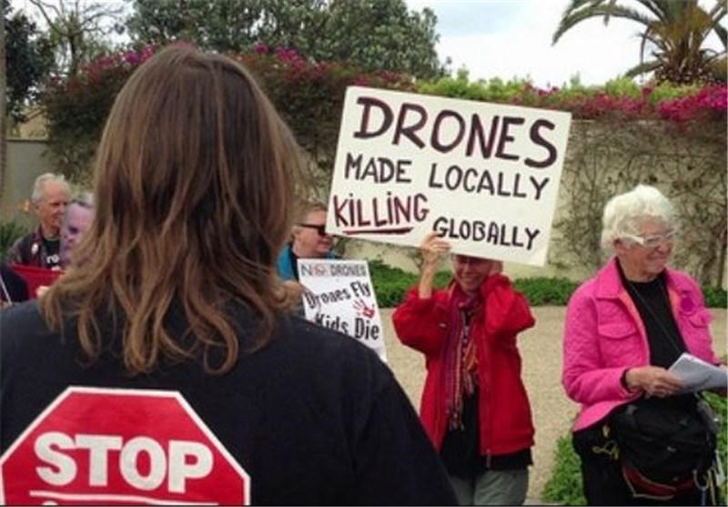اعتراض آمریکاییها به استفاده واشنگتن از پهپادها