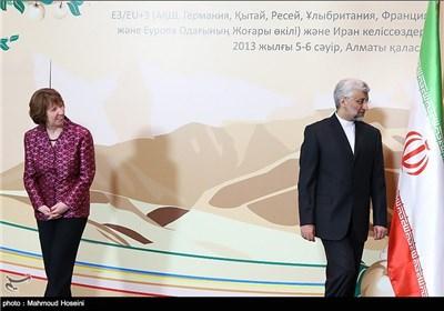 مذاکرات گروه ۵+۱ و هیات ایرانی در آلماتی