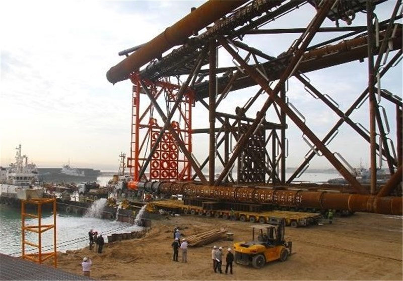 Iran Completes Jacket for South Pars Project