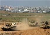 بولدوزرهای اسرائیلی به نوار غزه یورش بردند
