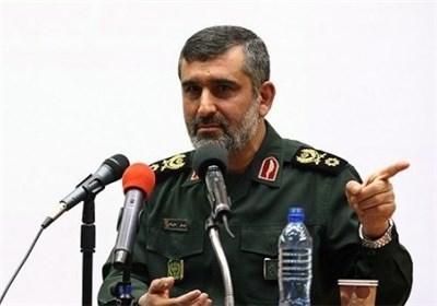 سردار حاجی زاده فرمانده هوافضای سپاه پاسداران
