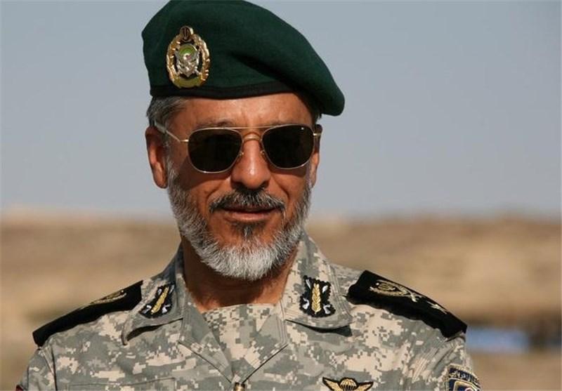 امیر سیاری فرمانده نیروی دریایی ارتش