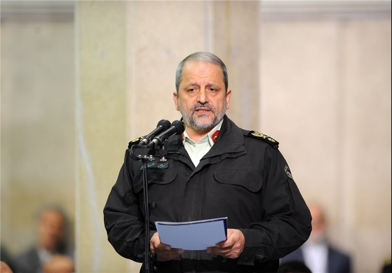Commander Highlights Iranian Police's Great Advancement in Ensuring Security