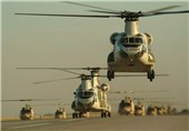رزمایش ارتش| بالگردهای ارتش شب گذشته برای نخستین بار عملیات شبانه اجرا کردند