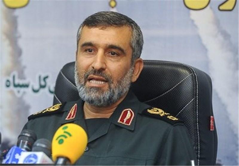 سردار حاجی زاده فرمانده هوافضای سپاه