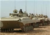 تانک ارتش و سپاه در رزمایش