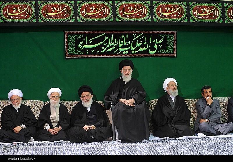 برنامه مراسم عزاداری ایام فاطمیه در حسینیه امام خمینی(ره)
